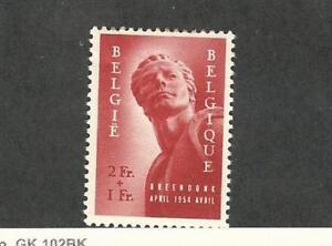 Belgium Postage Stamp B558 Mint Hinged 1954 Ebay