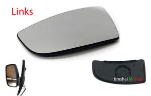 Spiegelglas-Aussenspiegel-Links-Konvex-Unten-fuer-Ford-Transit-MK8-ab-Bj-2014