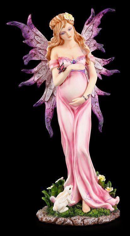 Figura Elfos -Embarazadas Elfo Elore - Fantasía Hadas Ángel Día de la Madre