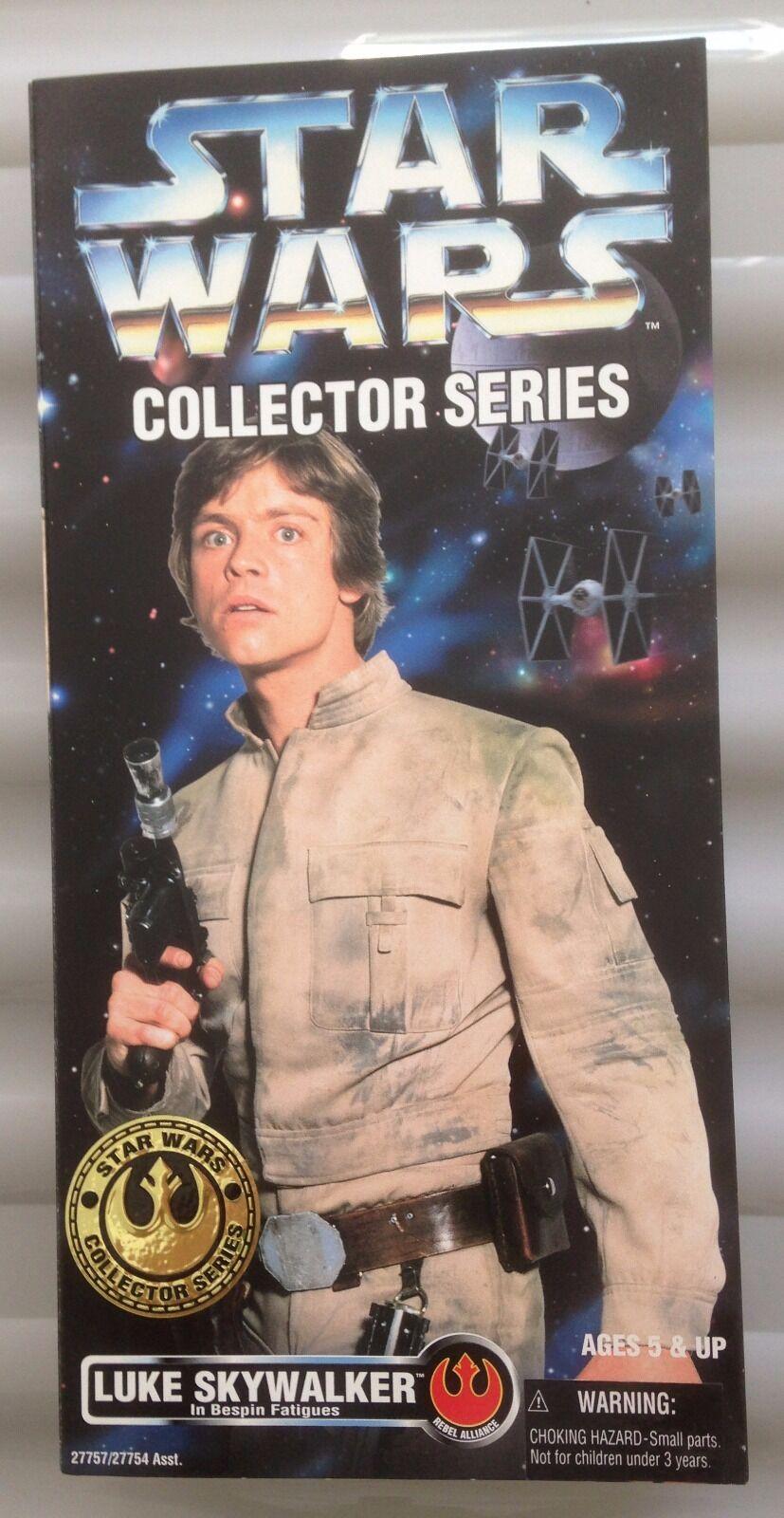 Star Wars Collectors Series Luke Skywalker in Bespin Fatigues 12''