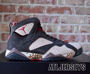 54fcc5daf2c14 2019 Nike Air Jordan 7 Retro Patta Shimmer Brown AT3375-200 Size