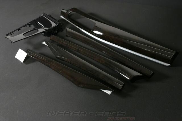 BMW 5er F07 GT Dekorleisten Edelholz Esche Maser Dunkel Interieur Leisten trim
