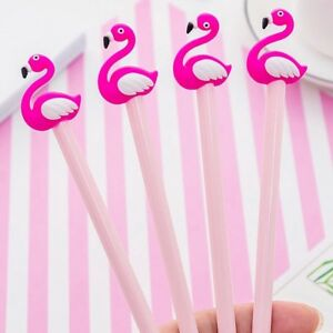 Flamingo-Gel-Pen-Pink-Pen-Novelty-Pen-Stocking-Filler-Office-Party