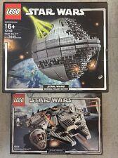 Lego Star Wars Death Star II 10143 +Millennium Falcon 4504 Original Trilogy NEW
