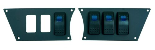 Polaris RZR XP 1000 Black Billet Aluminum Dash Plate With 4 Free Switches 2014