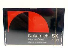 NAKAMICHI SX-C 60 BLANK AUDIO CASSETTE TAPE NEW ULTRA RARE 1979 YEAR JAPAN MADE