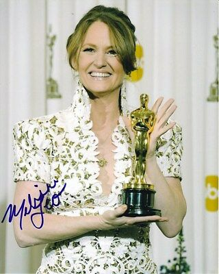 Melissa Leo Signed The Fighter Oscar Academy Award Photo W/ Hologram Coa The Latest Fashion Movies