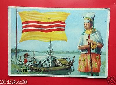 Figurines Cromos Cards Figurine Sidam Gli Stati Del Mondo 96 Vietnam Sud Flags D Sale Price Sticker Albums, Packs & Spares