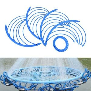 Net-Fishing-Hand-Throwing-Net-Special-Aluminum-Ring-Catch-Auxiliary-Accessory