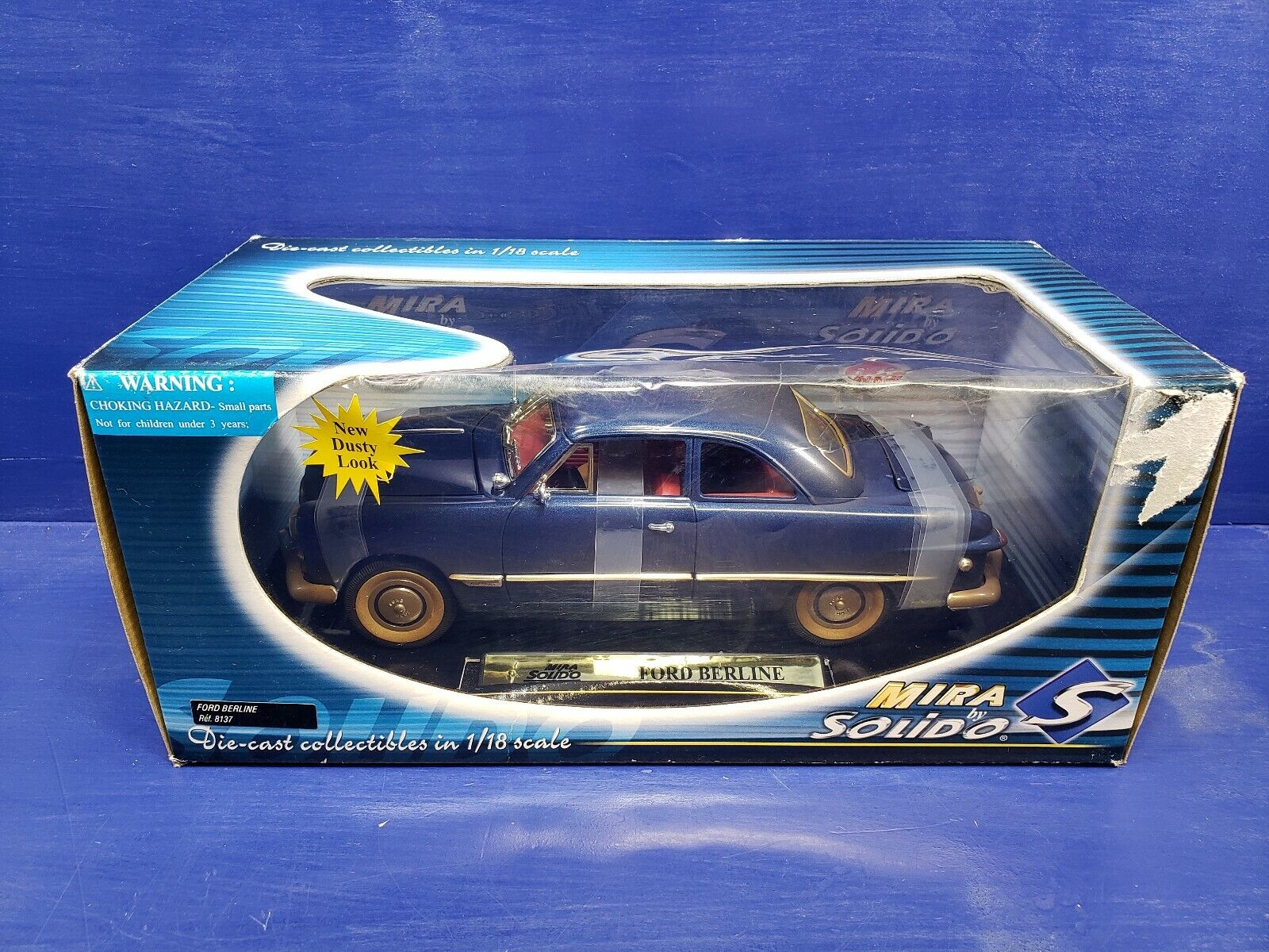 Ford Berline In A Dusty Blau Look 1 18 Scale Diecast From Mira By Solido dc310