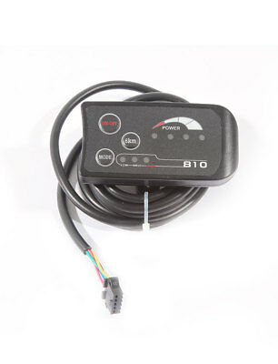 Electric Bicycle 810 LED Display With 4-Wire Cable Control Panel