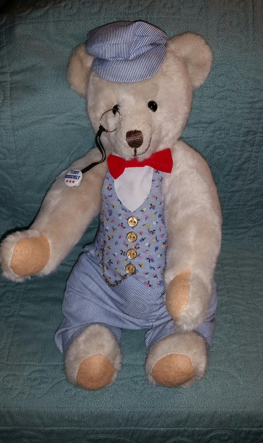 Rear Vintage Roosevelt Teddy Productions B By D&D Productions Teddy And Deans Of Britain.(gt3) d6a0b5