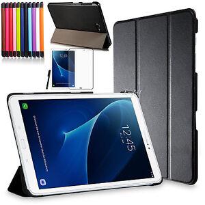 Smart-Cover-f-Samsung-Galaxy-Tab-A-10-1-T580-A6-Tasche-Etui-Case-Pen-Folie-3