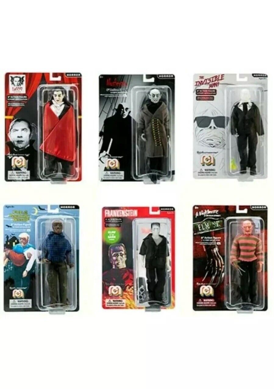 MEGO Horror serie set of 6 8  Figures Officially licensed ALL NEW