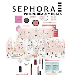 Calendario De Adviento Maquillaje.Detalles De Sephora Calendario De Adviento Invernal Belleza 24 Maquillaje Y Mas Genuino Ver Titulo Original