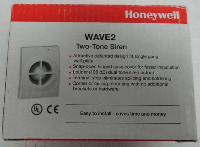 Honeywell Wave2 Two-Tone Siren