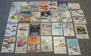1970s-MONOGRAM-Hobby-Kit-Ad-Collection-Lot-of-46-ads