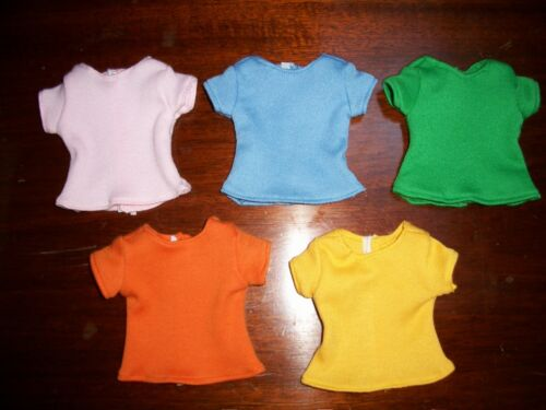 CUSTOM Doll Clothes American Girl Wellie Wishers T-SHIRTS Color choices 14.5 in