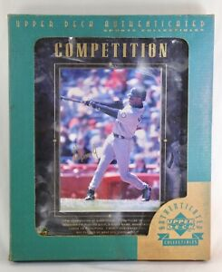 Ken-Griffey-Jr-1997-Upper-Deck-Competition-Framed-Picture-Photo-MLB-w-Packaging