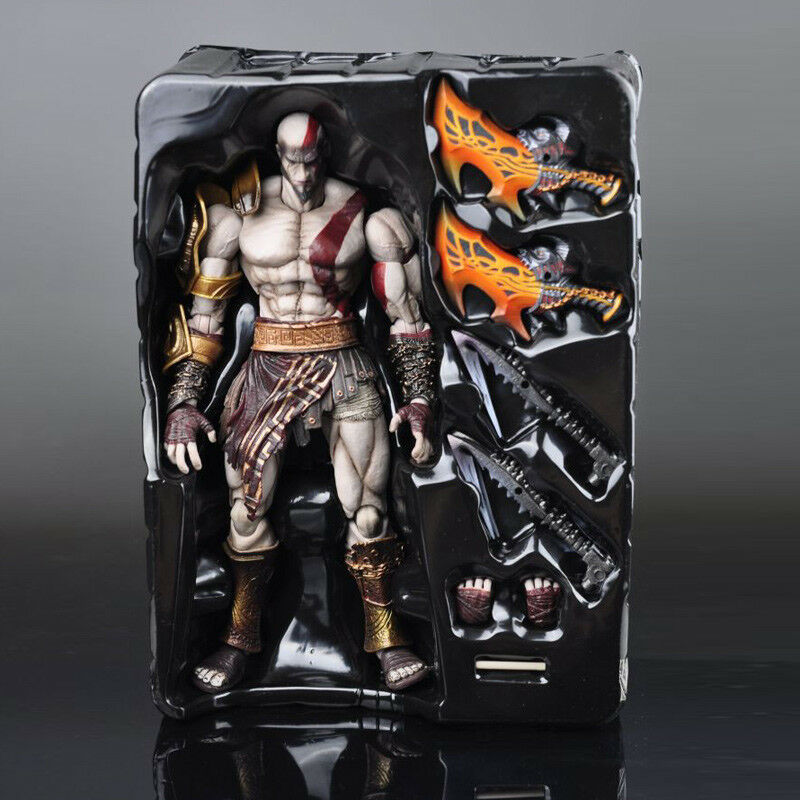 Square enix spielen kunst kai gott des krieges kratos pvc - action - figur einlösbar modell