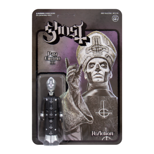 Ghost ReAction Figure-PAPA EMERITUS III Super 7 BLACK Series nouveau officiel//