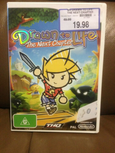 1 of 1 - DRAWN TO LIFE THE NEXT CHAPTER  WII GAME  BRAND NEW FREE POST (lor)