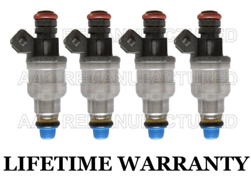 *LIFETIME WARRANTY* Denso Set Of 4 Fuel Injectors for Ford Mercury 2.0 968F-AC