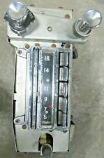 1963 Early Corvette C2 Mid Year Wonder Bar Am Only Radio Knobs Excellent Gm