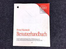 !!! Original Apple Power Macintosh Benutzerhandbuch Anleitung !!!!