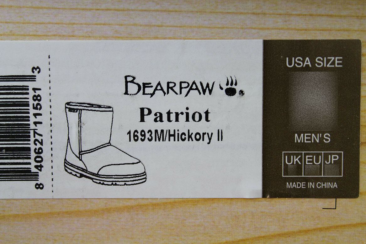 BEARPAW PATRIOT SNOW SHORT 7