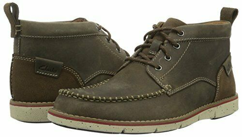 Clarks Mens  Kyston Mid Mushroom Nubuck , Ankle Stiefel , Cushion   UK 6,7,8 G    | Up-to-date Styling