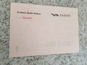 Cool-Vintage-Yaesu-Amateur-Radio-Station-Log-Book