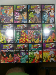 Lot-of-12-Dragon-Ball-GT-Lost-Episodes-Hero-039-s-Legacy-Movie-Anime-DVDs