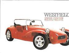 WESTFIELD SE AND SEI KIT CAR BROCHURE PLUS PRICES 1993
