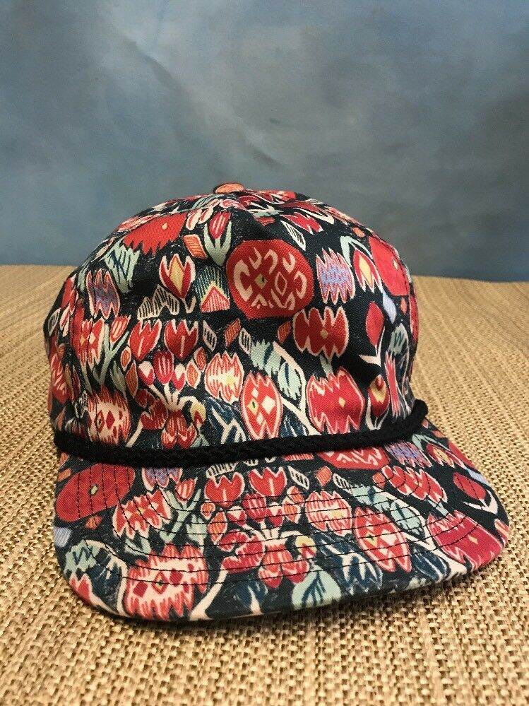 Brixton Supply Snapback Hat/Cap Colorful Flowers Flowers Colorful 2ac75f