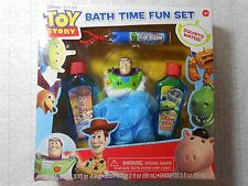Disney Pixar Toy Story Bath Time Fun Set - Collectible - NIB