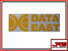 Data East Vinyl pinball Sticker