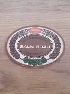 Alter Bierdeckel Österreich Brauerei Salm Bräu Beercoaster