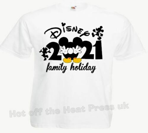 Adult and Child ****Family Disney Holiday T Shirts 2021 Multi Listing FOTL****