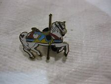 Rare Disney Pin Carousel Horse Blue & Gold From Walt Disney World 2009    pin941