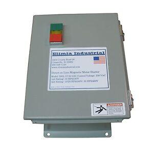 Elimia Dol Heavy Duty Motor Starter 480v 9 13 Amp 7 5 Hp