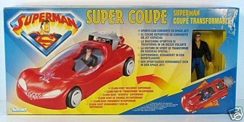Polish Animated SUPERMAN Transformable SUPER COUPE NRFB