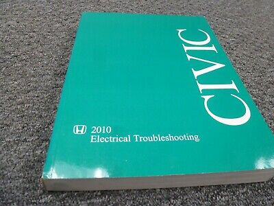 2010 Honda Civic Electrical Wiring Diagrams Manual DX LX ...