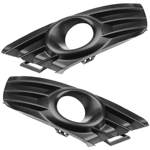 1 Pair Front Fog Lamp Grille Right and Left Light Cover for Citroen C4 FG