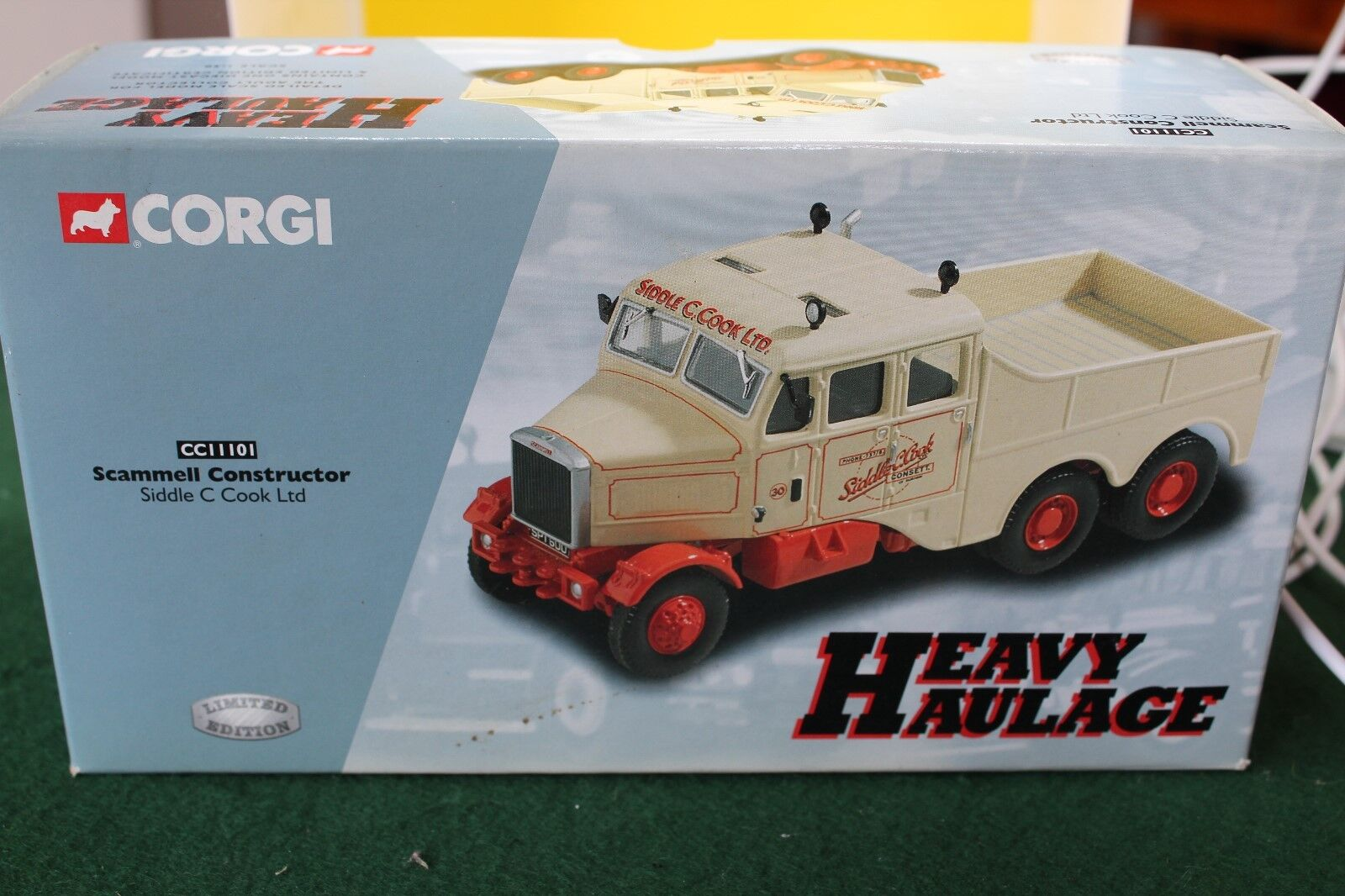 Corgi Classics Heavy Haulage Scammel Constructor in Siddle Cook Cook Cook Livery no 11101 9d74c6