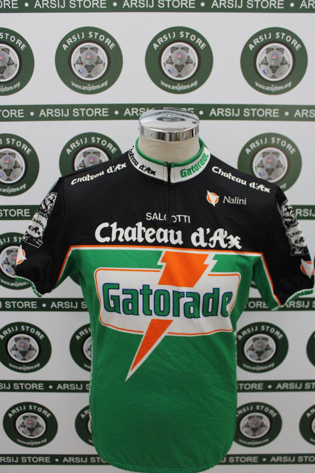 Maglia ciclismo bike shirt maillot trikot camiseta GATORADE NALINI TG 6 G191