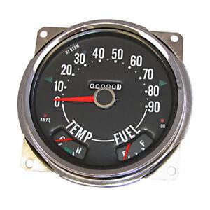 New Jeep Cj Cj5 Cj6 Cj3B Sdometer 55-79 X 17206.04 | eBay Omix Jeep Gauge Wiring Diagram on jeep driveline diagram, jeep shift solenoid, jeep gas tank vent, jeep hoses diagram, jeep wiring time, jeep fuses diagram, jeep horn diagram, jeep o2 sensor wiring, jeep exhaust system diagram, jeep relay wiring, jeep lights diagram, jeep electrical diagram, jeep headlight diagram, jeep pulley diagram, jeep engineering diagram, jeep stock speakers, jeep wiring harness, pioneer deh 150mp instalation diagram, jeep pump diagram, jeep turn signal diagram,