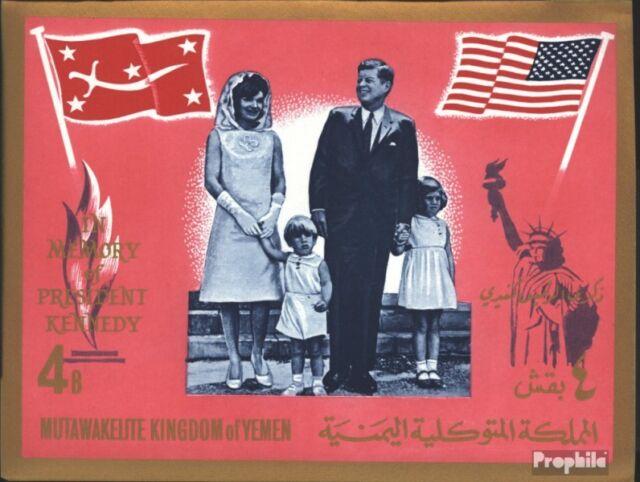 Yemen(UK) block16b (complete issue) unmounted mint / never hinged 1965 President