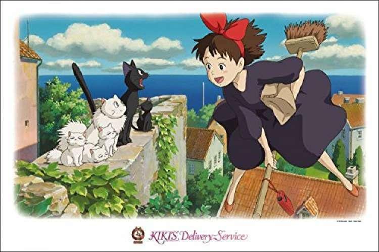 F S Studio Ghibli 1000 Piece Kiki's  Delivery Service I like the town of Colico   autentico