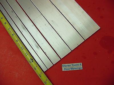 """2 Pieces 1//2/"""" X 4/"""" X 14/"""" Long ALUMINUM FLAT BAR STOCK SOLID 6061-T6511"""